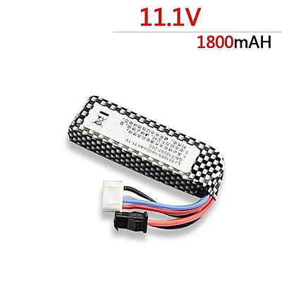 Pin 11V /1800MAH Cho Đồ Chơi Các Loại, Flycam, Cano, Xe Mô Hình (Pin Ngang)