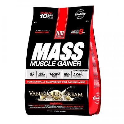 Sữa Uống Tăng Cơ Tăng Cân Vị Vani EL932 Elite Labs Mass Muscle Gainer Vanilla EL932 (4.6kg)