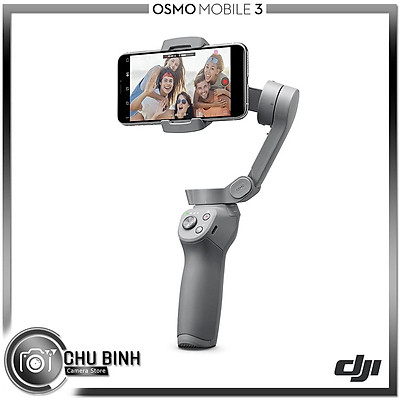 Gimbal | DJI Osmo Mobile 3 Combo | Hàng Chính Hãng