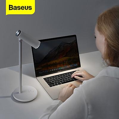 Đèn LED để bàn, đèn học, đèn làm việc Baseus I-Wok Series Desk Lamp Charging Office Reading