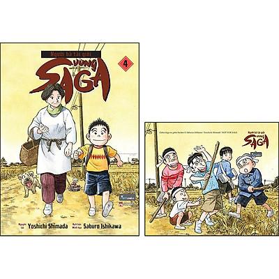 Người Bà Tài Giỏi Vùng Saga - Tập 4 (Tặng Kèm: 1 Postcard)