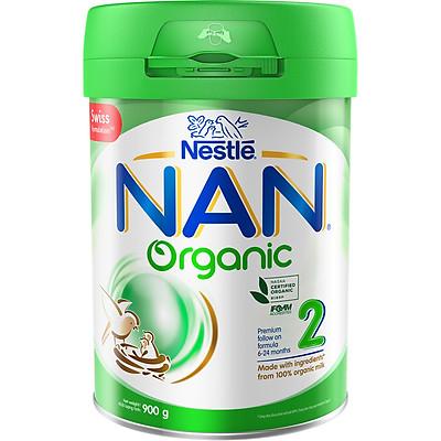 Sữa Bột Nestle NAN Organic 2 900g