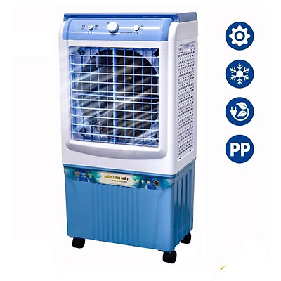 Quạt điều hòa hơi nước 50L mặt kính