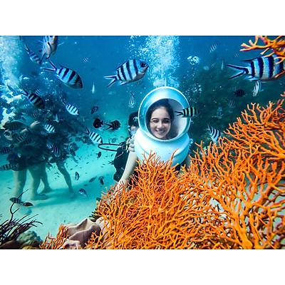 [Phú Quốc] Evoucher Ưu Đãi Tour Đi Bộ Dưới Đáy Biển Ngắm San Hô Tại Công Viên Seaworld Namaste - Gói Tiêu Chuẩn