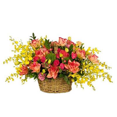 Giỏ hoa tươi - Vườn Yêu 3957