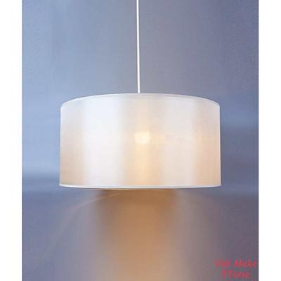 Đèn thả 2 tầng cỡ lớn vải lụa cao cấp, đèn trang trí nội thất hàng chính hãng.