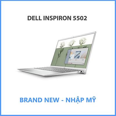 Laptop Dell Inspiron 5502 Core i7-1165G7 / RAM 8G / SSD 256GB / Full HD / Win 10 / Màu Bạc - Hàng Nhập Khẩu Mỹ