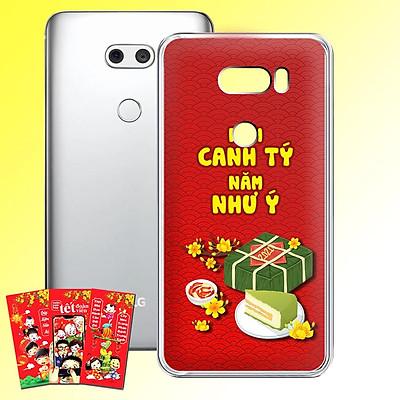 Ốp lưng điện thoại LG V30 - 01253 7968 HPNY2020 20 - Tặng bao lì xì Cung Hỷ Phát Tài - Silicon dẻo - Hàng Chính Hãng