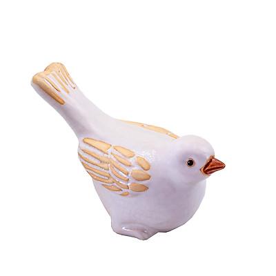 Chim sáo trắng – tượng gốm sứ trang trí hình động vật