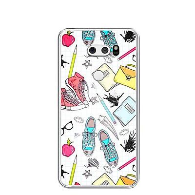 Ốp lưng dẻo cho điện thoại LG V30 - 0208 STUDENTPAINT - Hàng Chính Hãng