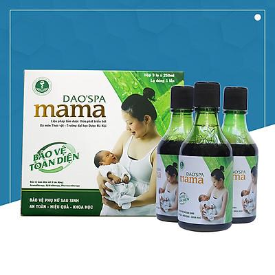 Nước xông tắm sau sinh Dao'spa mama người Dao đỏ 750ml - DK Pharma