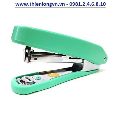 Bấm kim số 10 Plus PS-10E màu xanh lá
