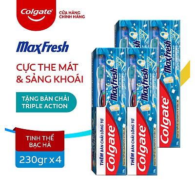 Bộ 4 Kem đánh răng Colgate Maxfresh GenZ phiên bản giới hạn