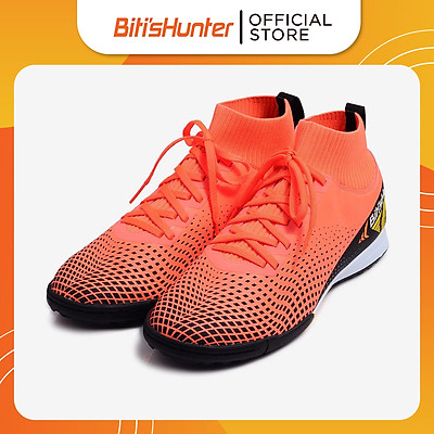 Giày Bóng Đá Nam Biti's Hunter Football High-Top Flame Orange DSMH03800CAM (Cam)