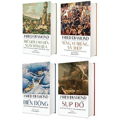 Sách - Combo 4 cuốn - Jared Diamond (Lịch sử nhân loại)