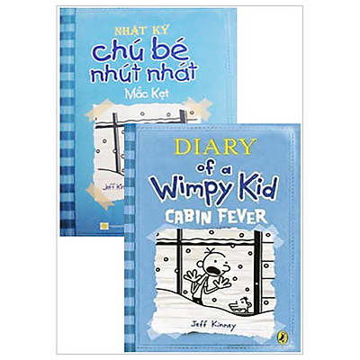 Combo Song Ngữ Diary Of A Wimpy Kid 6 - Mắc Kẹt