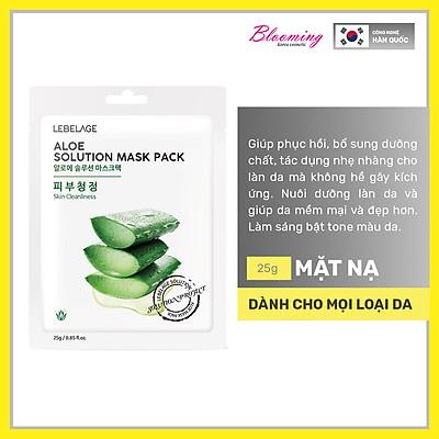 Mặt nạ dưỡng da và chăm sóc da mỗi ngày Lebelage Solution Mask Pack 25ml