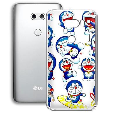 Ốp lưng dẻo cho điện thoại LG V30 - 01253 7878 DOREMON11 - in hình Doremon - Hàng Chính Hãng