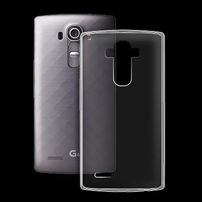 Ốp lưng cho LG G4 - 01162 - Ốp dẻo trong - Hàng Chính Hãng