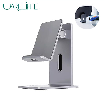 Xiaomi Ecological Chain Mobile Phone Holder Stand Tablet Smartphone Portable Desk Organiser Alloy Adjustable Holders Non-slip 60° Angle Adjustable Smart Phone Brackets For iPhone iPad Pro Samsung