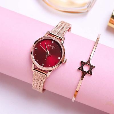 Đồng hồ nữ Julius Hàn Quốc JS-045 mặt nhỏ siêu xinh (3 màu)