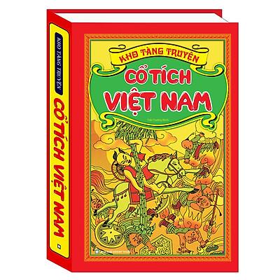 Văn Học Việt Nam: Kho Tàng Truyện Cổ Tích Việt Nam (Truyện Thiếu Nhi Hay Nhất Dành Cho Trẻ / Tặng Kèm Bookmark Green Life)