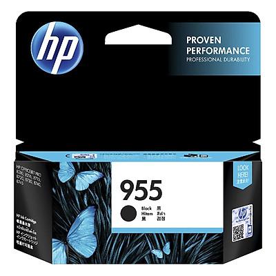 Mực in Phun HP 955 Đen (Máy in HP OfficeJet Pro 8210/8216/HP OfficeJet Pro 8720 All-in-One/8730/8740/8710/HP OfficeJet Pro 7740 WF AiO/HP OfficeJet Pro 8732M AiO/HP OfficeJet Pro 7720 Wide Format/7730/HP OJP 8745 All-in-One/L0S60AA) - Hàng Chính Hãng