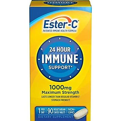 Viên bổ sung vitamin Ester-C Vitamin C 1000 mg 90 Coated Tablets