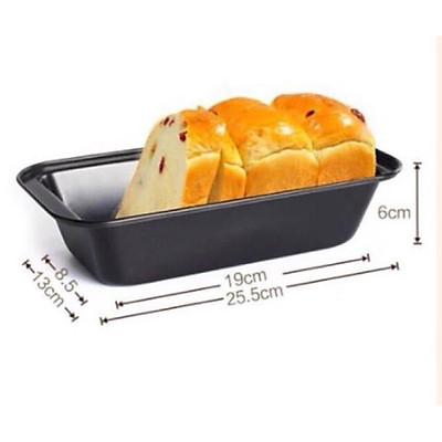 Khuôn loaf chữ nhật chống dính làm bánh mỳ (MS 198)