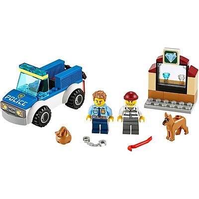 Đồ Chơi Lắp Ghép LEGO City Biệt Đội Cảnh Khuyển 60241 (67 Chi Tiết)