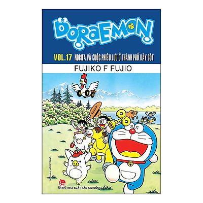 Doraemon Truyện Dài - Tập 17 - Nobita Và Cuộc Phiêu Lưu Ở Thành Phố Dây Cót (Tái Bản 2019)
