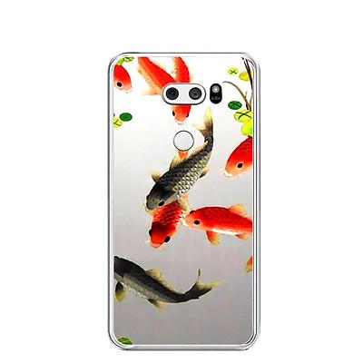 Ốp lưng dẻo cho điện thoại LG V30 - 0150 FISHES03 - Hàng Chính Hãng
