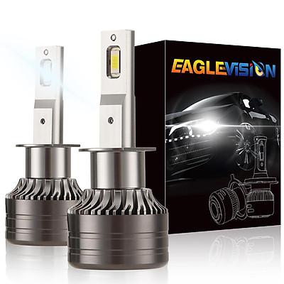 1 pair Car Headlamp LED Headlight Bulb 60W 6,000LM ZES-3575 LED chip Automobile LED headlight