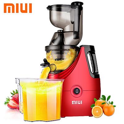 Máy ép trái cây tốc độ chậm cao cấp thương Miui JE-B02B - Công suất: 150W - Chất liệu: Tritan, ABS, PC, PEI, BPA - Ống ép cỡ XXL - Hàng Nhập Khẩu