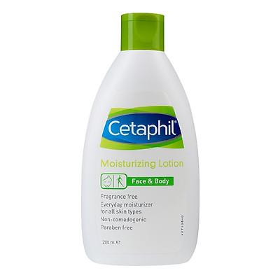 Sữa Dưỡng Ẩm Toàn Thân Và Da Mặt Cetaphil Moisturizing Lotion (200ml)