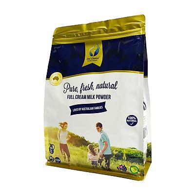 Sữa Bột Nguyên Kem Ozi Choice Túi 1kg - Nhập Khẩu Nguyên Túi Từ Úc
