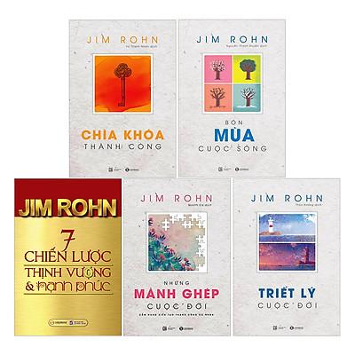 Bộ Jim Rohn (Trọn Bộ 5 Cuốn)