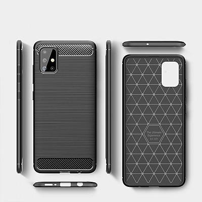 Ốp lưng Samsung Galaxy A51 Likgus Armor chống sốc - Hàng chính hãng - đen