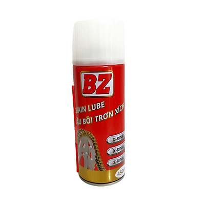 Xịt dưỡng sên BZ CHAINLUBE 450ML