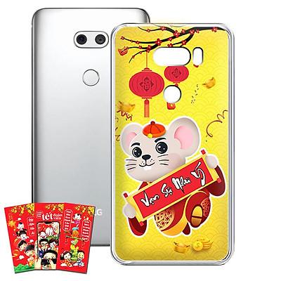 Ốp lưng điện thoại LG V30 - 01253 7966 HPNY2020 18 - Tặng bao lì xì Cung Hỷ Cung Hỷ - Silicon dẻo - Hàng Chính Hãng
