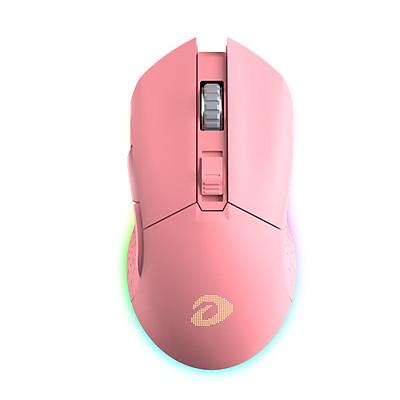 Chuột Không Dây Gaming Dareu EM901 RGB Pink - Hàng Chính Hãng