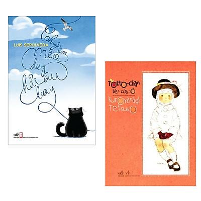 Combo Truyện Hay Dành Cho Bé Yêu :Chuyện Con Mèo Dạy Hải Âu Bay + TotoChan Cô bé bên cửa sổ ( Tặng Kèm Poster An Toàn Cho Con Yêu )