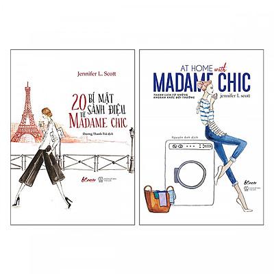 Combo Madame Chic (Trọn Bộ 2 Cuốn) : 20 Bí Mật Sành Điệu từ Madame Chic và At Home With Madame Chic - Thanh Lịch Từ Những Khoảnh Khắc Đời Thường