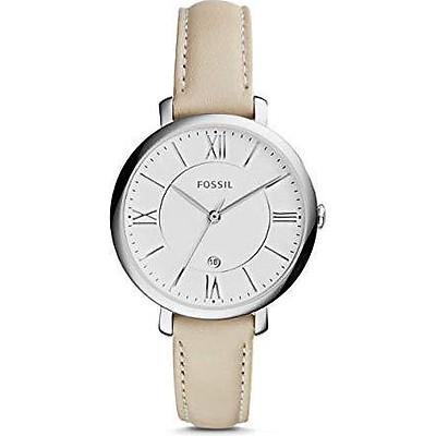 Đồng hồ nữ Fossil Women's ES3793 Jacqueline bằng thép không gỉ dây da Nhập Khẩu Mỹ