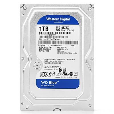 Ổ cứng HDD Western Blue 1Tb SATA3 7200rpm - Hàng Chính Hãng
