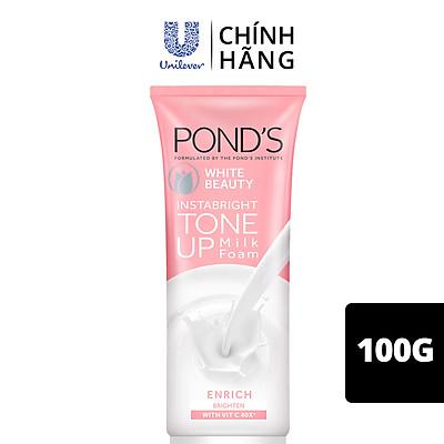 Kem Sữa Rửa Mặt Dưỡng Trắng Nâng Tông Pond'S White Beauty Tone Up 100G
