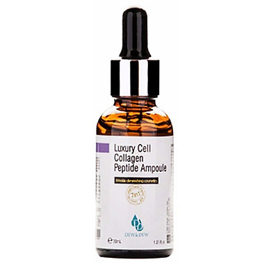 Tinh Chất Serum Làm Trắng, Trẻ Hóa Da Dew&Dew Luxury Cell Collagen Peptide 30ml Ampoule