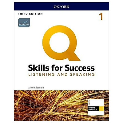 Q: Skills For Success: Level 1: Listening And Speaking Student Book With iQ Online Practice - 3rd Edition