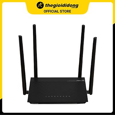 Bộ Phát Sóng Wifi Router Chuẩn AC1500UHP Băng Tần Kép Asus AC1500 Đen - Hàng chính hãng