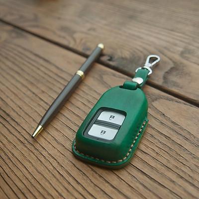 Vỏ bao chìa khóa cho  H.o.n.d.a Civic - đồ da thủ công - da bò xịn DT467